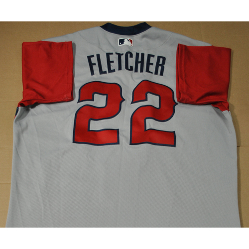 Photo of Game-used Jersey - 2021 Little League Classic - Los Angeles Angels vs. Cleveland Indians - 8/22/2021 - West, David Fletcher #22
