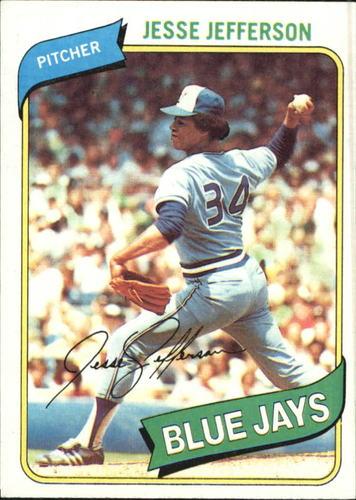 Photo of 1980 Topps #467 Jesse Jefferson