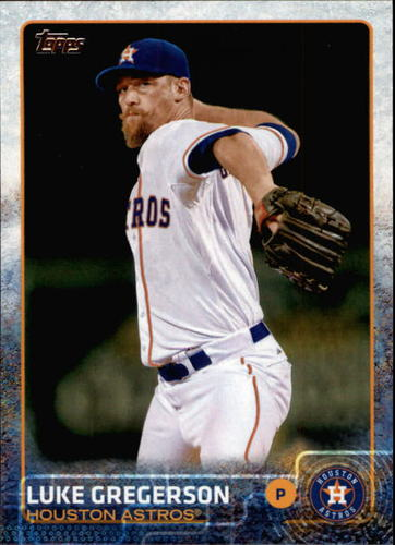Photo of 2015 Topps #525 Luke Gregerson
