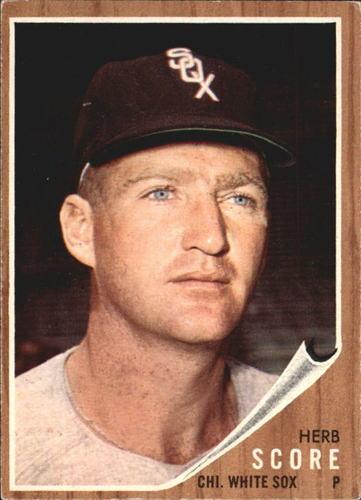 Photo of 1962 Topps #116 Herb Score