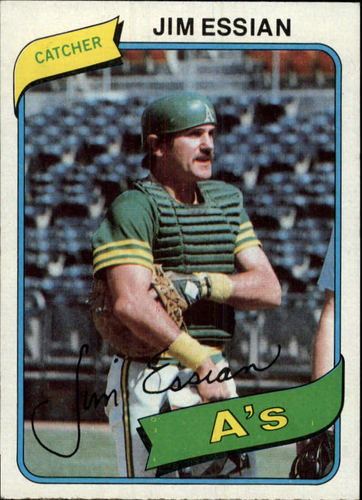 Photo of 1980 Topps #341 Jim Essian