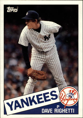Photo of 1985 Topps Super #58 Dave Righetti