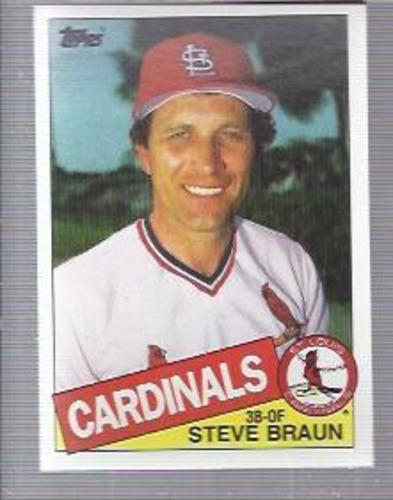 Photo of 1985 Topps #152 Steve Braun