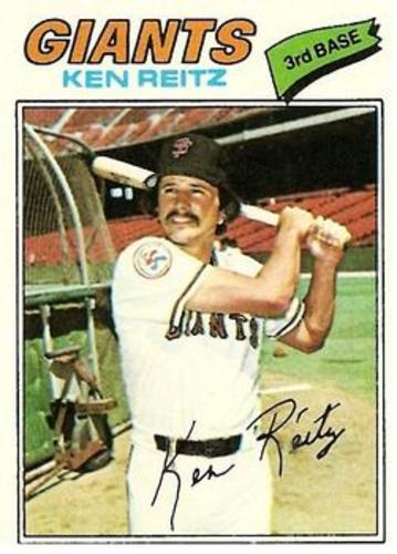Photo of 1977 Topps #297 Ken Reitz