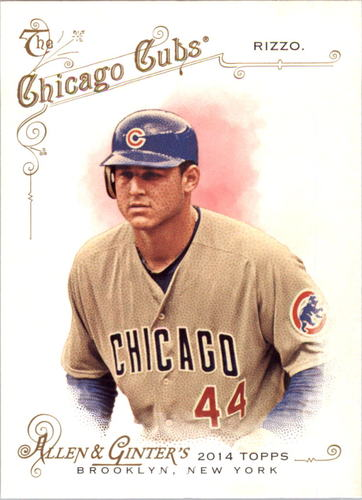 Photo of 2014 Topps Allen and Ginter #177 Anthony Rizzo