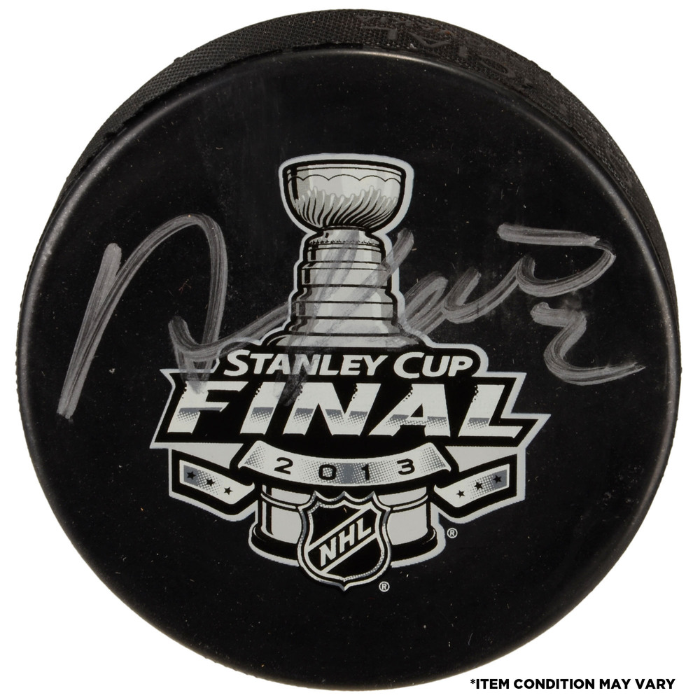 Duncan Keith Chicago Blackhawks Autographed 2010 Stanley Cup Finals Game 6 Official Game Puck - Imperfect Condition