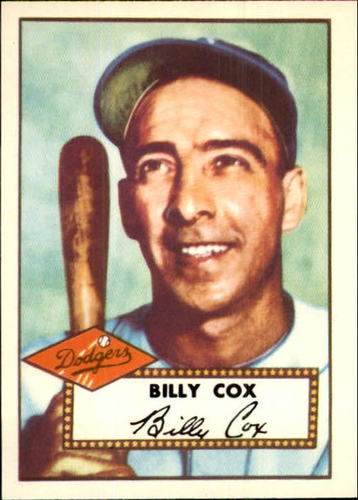 Photo of 1983 Topps 1952 Reprint #232 Billy Cox