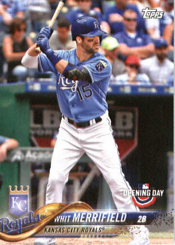 Photo of 2018 Topps Opening Day #192 Whit Merrifield
