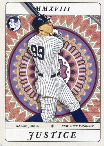 Photo of 2018 Topps Gypsy Queen Tarot of the Diamond #TOD1 Aaron Judge