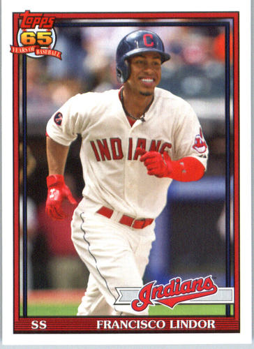 Photo of 2016 Topps Archives #281 Francisco Lindor