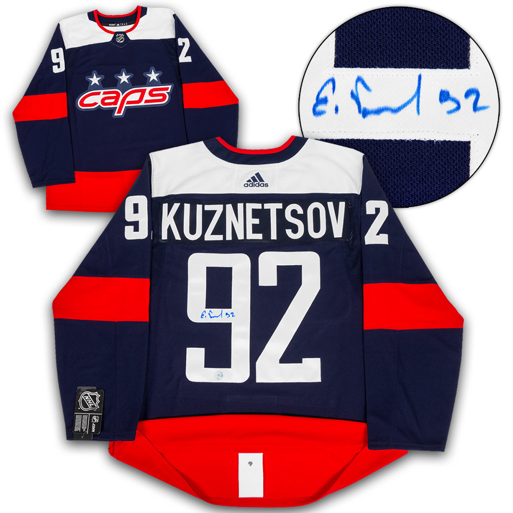 Evgeny Kuznetsov Washington Capitals Signed Stadium Series Adidas Authentic  Jersey 0784c5942