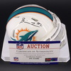 Dolphins - Dolphins Billy Turner Signed Mini Helmet