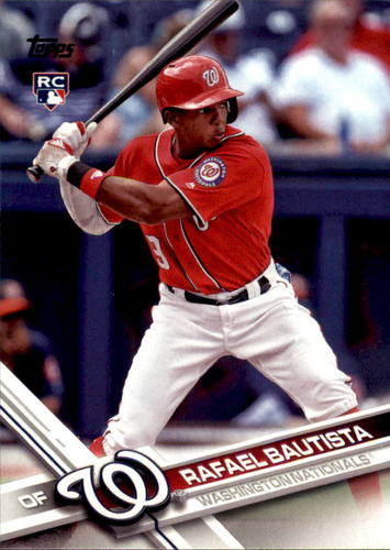 Photo of 2017 Topps Update #US16 Rafael Bautista RC