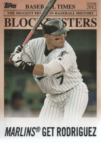 Photo of 2012 Topps Update Blockbusters #BB16 Ivan Rodriguez