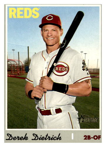 Photo of 2019 Topps Heritage #644 Derek Dietrich