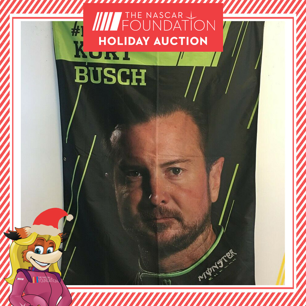 NASCAR's Kurt Busch 2011 MENCS Playoff Banner!
