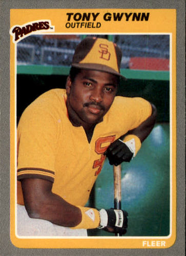 Photo of 1985 Fleer #34 Tony Gwynn