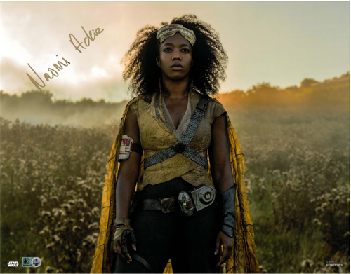 Naomi Ackie As Jannah 11x14 AUTOGRAPHED IN 'Gold' INK PHOTO