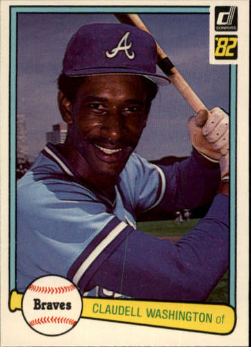 Photo of 1982 Donruss #58 Claudell Washington