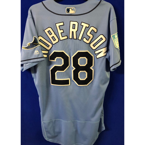 Photo of Game Used Spring Training Jersey: Daniel Robertson - February 22 (PHI) & March 26 (DET)