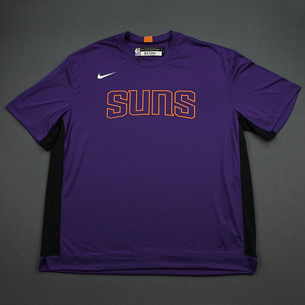 Deandre Ayton - 2020 NBA Rising Stars - Team World - Warm-up and Game-Issued Shooting Shirt