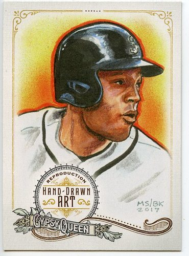 Photo of 2017 Topps Gypsy Queen Hand Drawn Art Reproductions #GQARRC1 Robinson Cano