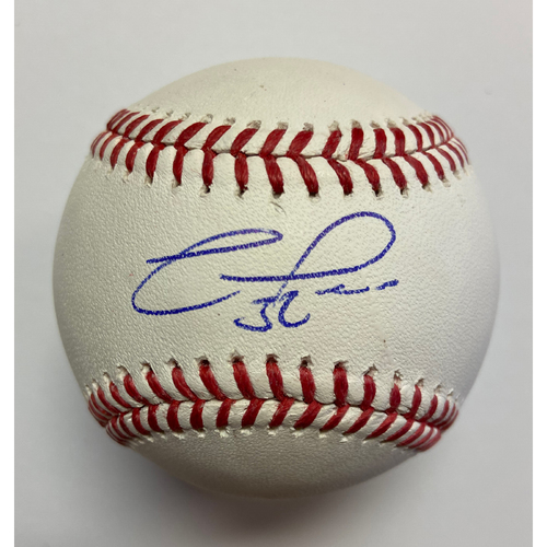 Franmil Reyes Autographed Authentic Baseball