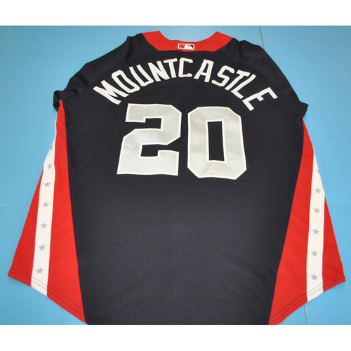 2018 Futures Game - Ryan Mountcastle Batting Practice Worn Jersey
