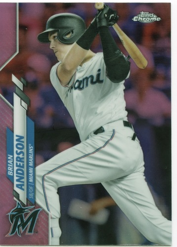 Photo of 2020 Topps Chrome Pink Refractors #146 Brian Anderson
