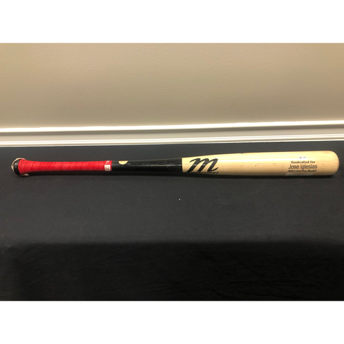 Photo of Jose Iglesias -- Team-Issued Broken Bat -- 2019 Season