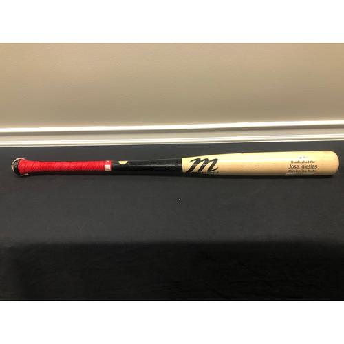 Jose Iglesias -- Team-Issued Broken Bat -- 2019 Season
