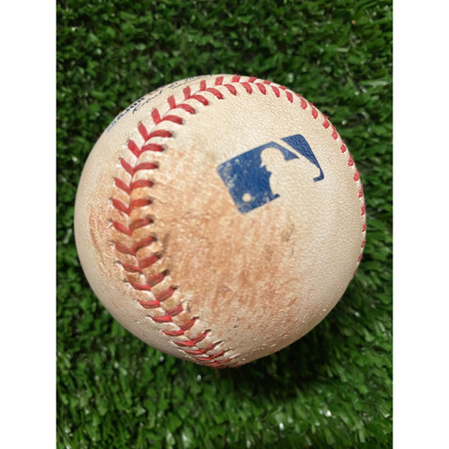 Photo of Jacob deGrom Pitched Strikeout Ball, Batter: Freddie Freeman - Also pitched to Ozzie Albies - July 1, 2021