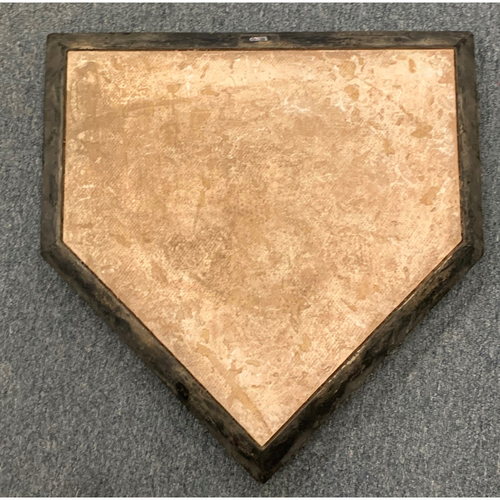 Photo of Boston Red Sox Team Issued Home Plate