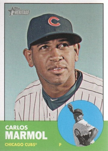 Photo of 2012 Topps Heritage #212 Carlos Marmol