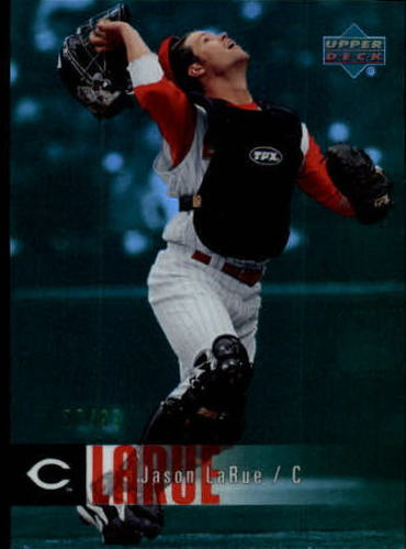 Photo of 2006 Upper Deck Special F/X Green #129 Jason LaRue /99