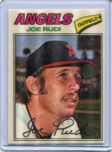 Photo of 1977 Topps Cloth Stickers #39 Joe Rudi