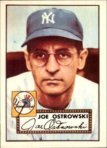 Photo of 1983 Topps 1952 Reprint #206 Joe Ostrowski