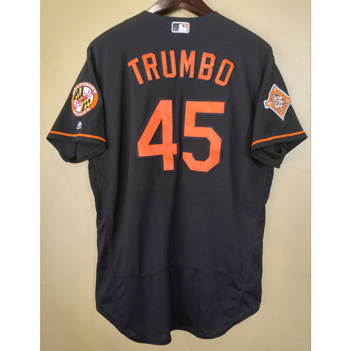 Mark Trumbo - Jersey: Game-Used