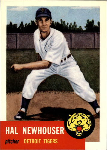 Photo of 1991 Topps Archives 1953 #228 Hal Newhouser