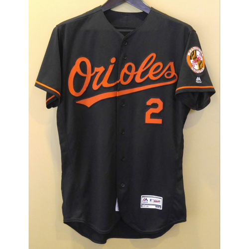 Photo of J.J. Hardy - Friday Night Jersey: Game-Used