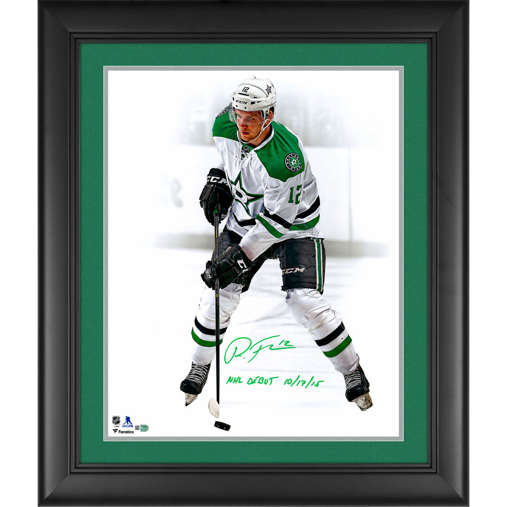 Radek Faksa Dallas Stars Framed Autographed 16
