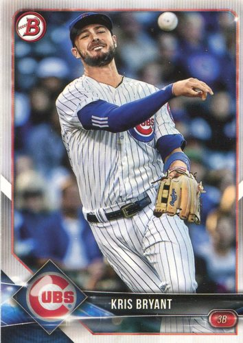 Photo of 2018 Bowman #100 Kris Bryant