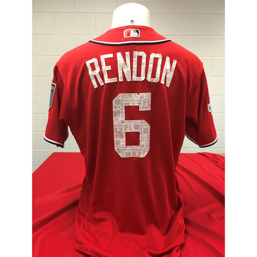 Photo of Game-Used Spring Training Jersey: Anthony Rendon