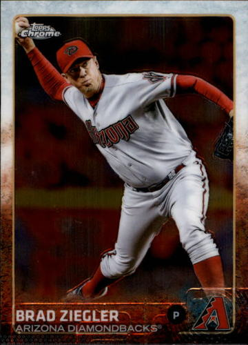 Photo of 2015 Topps Chrome #36 Brad Ziegler