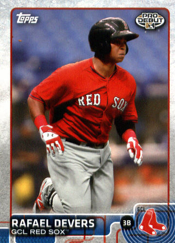 Photo of 2015 Topps Pro Debut #185 Rafael Devers