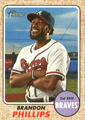 Photo of 2017 Topps Heritage #534A Brandon Phillips