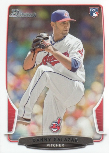Photo of 2013 Bowman Draft #11 Danny Salazar Rookie Card