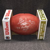 NFL - Bills Steve Tasker signed authentic football w/ 1993 Pro Bowl MVP inscription