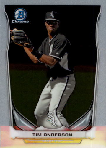 Photo of 2014 Bowman Chrome Draft Top Prospects #CTP47 Tim Anderson