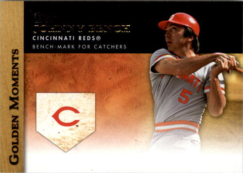 Photo of 2012 Topps Update Golden Moments #GMU40 Johnny Bench